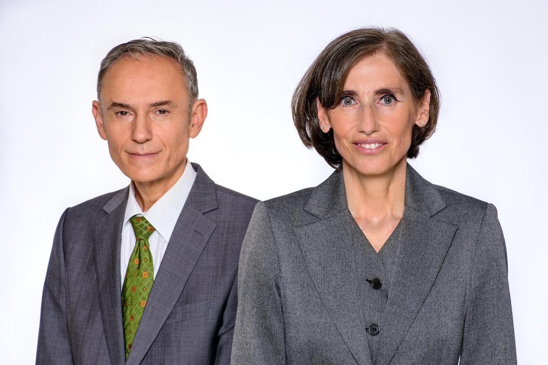 Markus Holzer und Nadja Goldmann